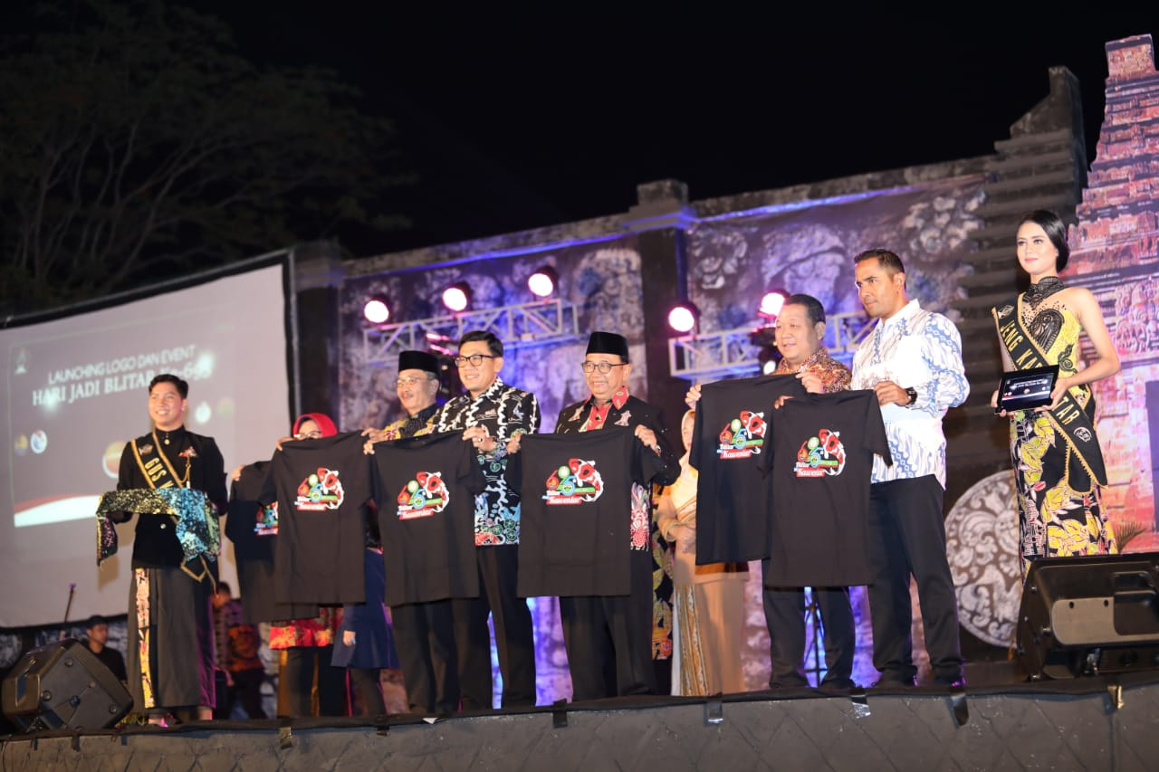 Anniversary Logo Blitar 695 and Batik of Blitar Officially Launched
