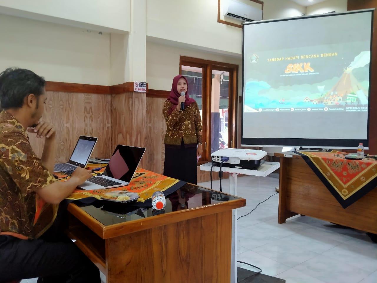 Tanggap Hadapi Bencana dengan Aplikasi Sistem Informasi Kebencanaan Kabupaten Blitar