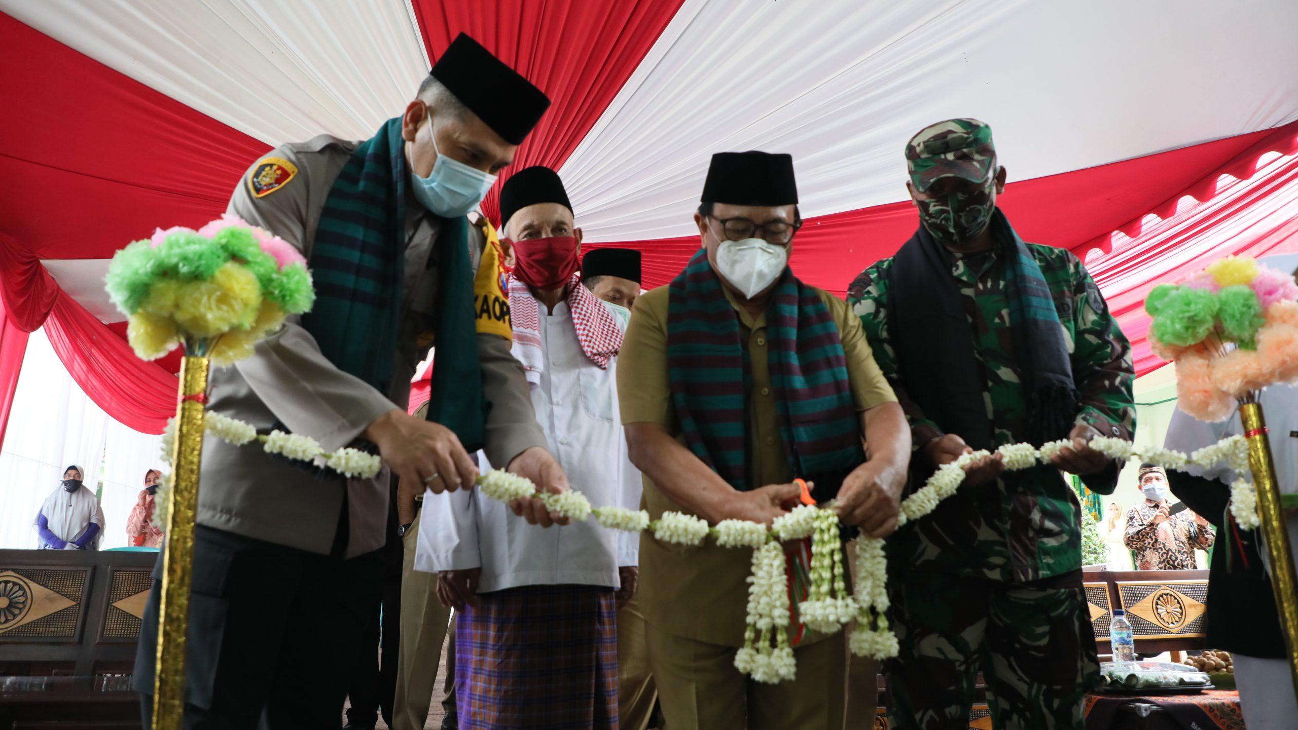 Ke Ponpes Al Mawaddah 2, Bupati Blitar Launching Ponpes Tangguh Semeru